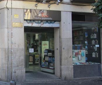 Fachada de la Librería Paulinas de Granada