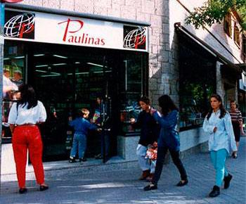Fachada de la Librería Paulinas de Madrid