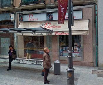 Fachada de la Librería Paulinas de Valladolid