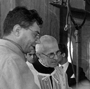 Padre Alberione con Don Cordero