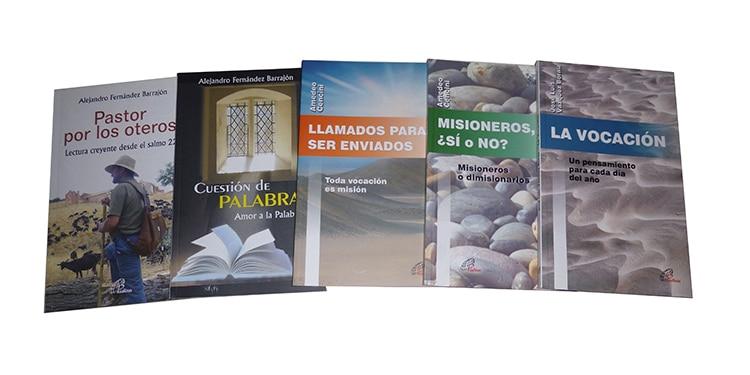 Muestra de libros pertenecientes a la colección búsqueda