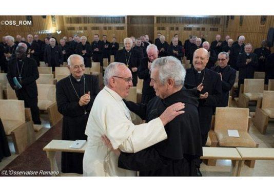Papa Francisco y Ermes Ronchi