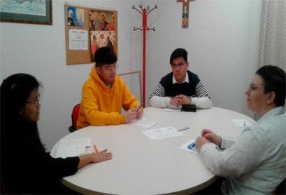 Grupo compartir reflexiones
