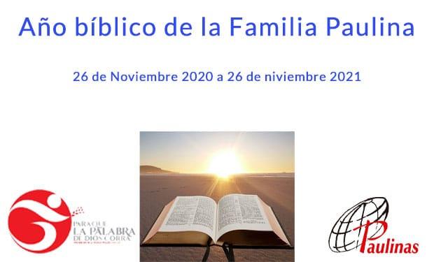 Mes de la Biblia 2020